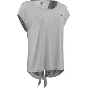 Kari Traa Celina T-shirt Femme, grey melange